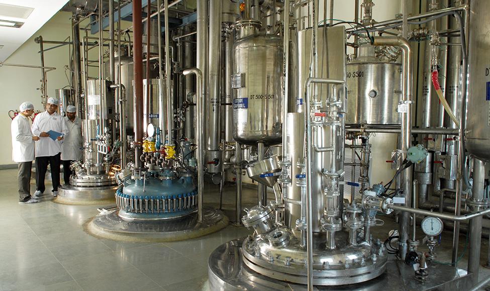 API manufacturing plant in Dabhasa.