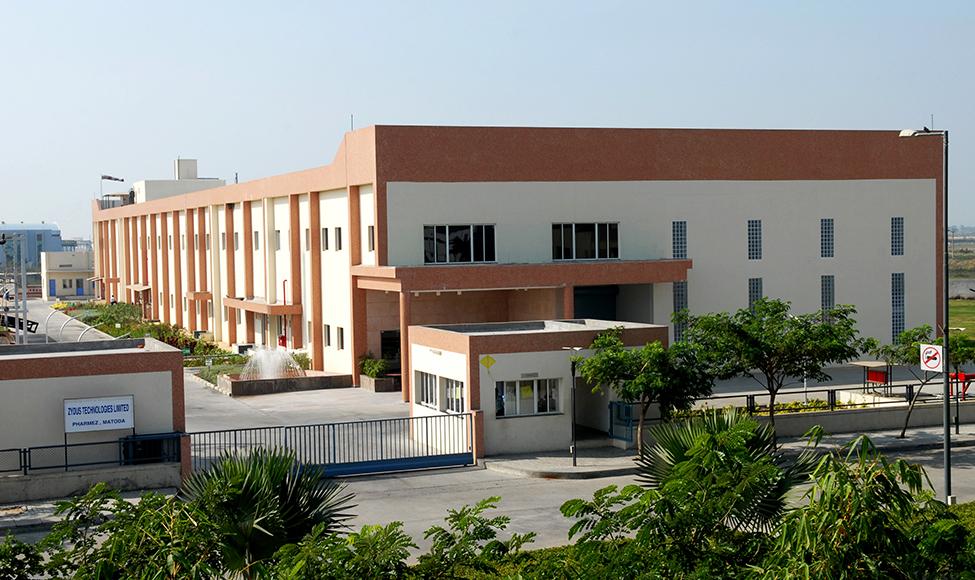 Transdermal manufacturing facility in Moraiya (near Ahmedabad, India).