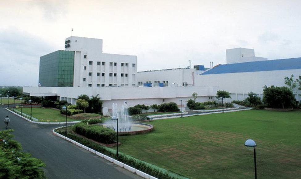 Finished dosage plant in Moraiya (near Ahmedabad, India).